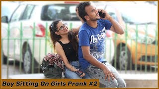 Boy Sitting on Girls Prank Part-2 | Funky Joker