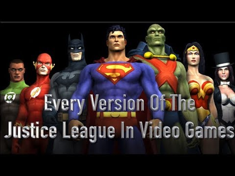 Every Version Of The Justice League In Video Games