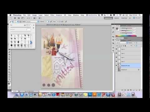 tutorial creating a visual cv using photoshop youtube