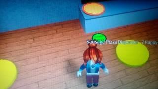 Играем в игру Roblox пиццерия