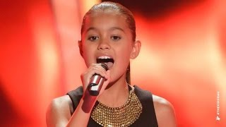 Alexa Sings Girl On Fire | The Voice Kids Australia 2014(Alexa gave a fiery performance of Alicia Keys' smash hit. Go to www.thevoicekids.com.au for more news, videos and backstage galleries., 2014-06-30T03:30:01.000Z)