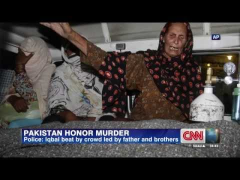 Pakistani 'Punjabi' Pregnant woman stoned to death by family members in Lahore