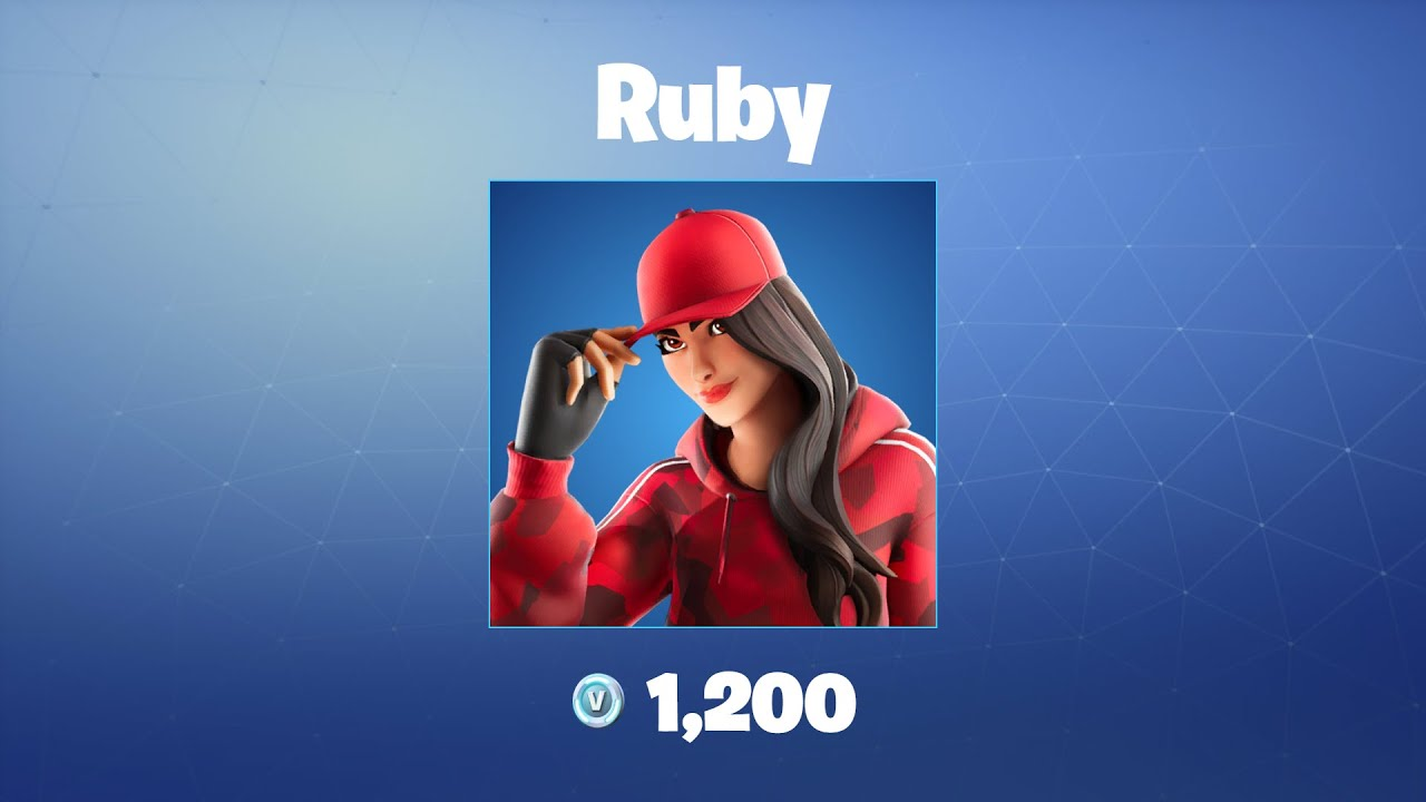 Ruby | Fortnite Outfit/Skin - YouTube