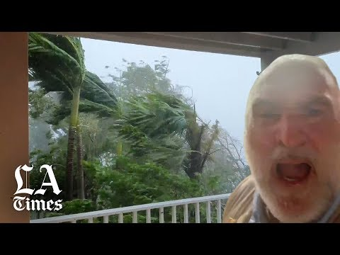 Hurricane Dorian makes