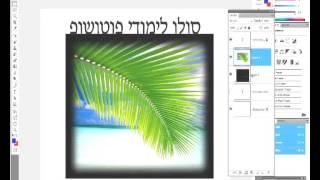 מדריך פוטושופ צילום למתחילים אפקטים על תמונות איך עושים