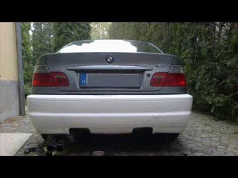 Bmw E46 Coupe With E46 M3 Style Rear Bumper Install Www