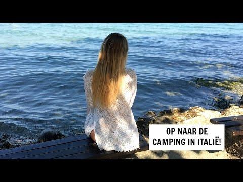 OP NAAR DE CAMPING IN ITALIË! || VLOG #33 | Lieke Biemans