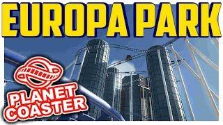 Europa Park - Nach dem Feuer | PARKTOUR - Planet Coaster