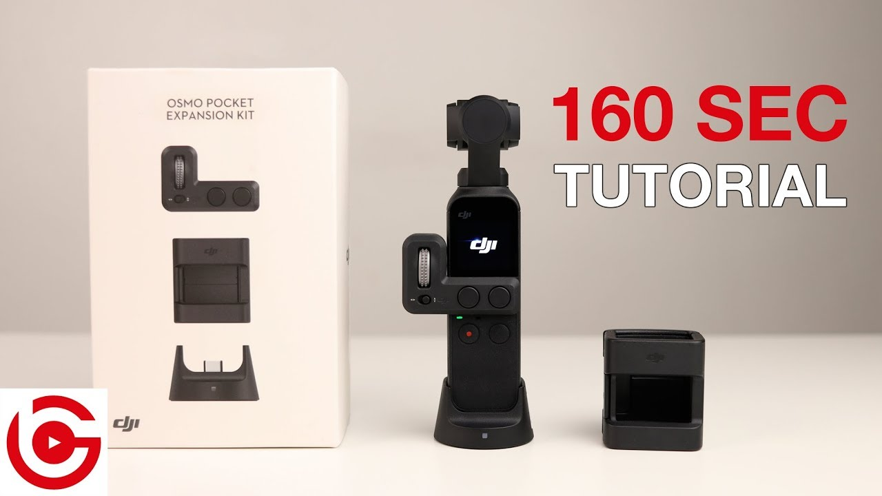 Official DJI Osmo Pocket Expansion Accessory Kit
