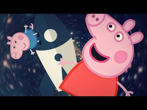 PEPPA PIG IN THE SPACE AND MAKING PANCAKES games for kids