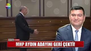 MHP Aydın adayını geri çekti!