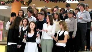 Немецкая песня Stille nach в исполнение школы 1258.(2008)