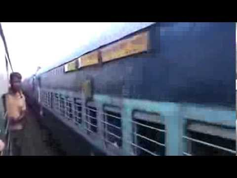 Thrilling parallel race with brand new WDP-4D!! Saraighat Superfast and EMU fight it out