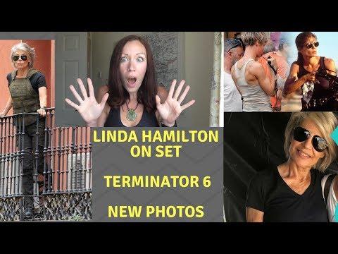 TERMINATOR 6 - LINDA HAMILTON AS SARAH CONNOR - MORE NEW PHOTOS!