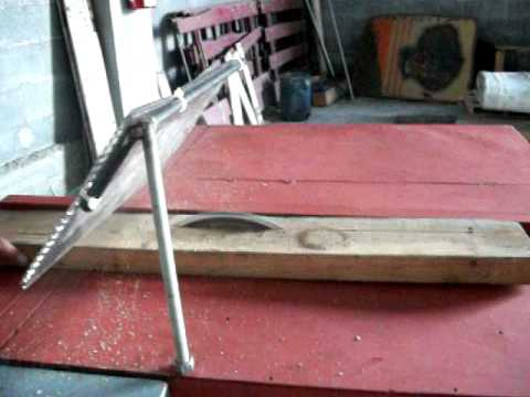 Sierra de banco para corte de madera youtube - Sierra de banco ...