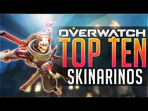 OVERWATCH TOP 10 BEST SKINS | ( OVERWATCH BEST SKINS )