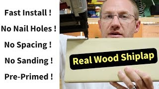 Shiplap Walls DIY - Advantages of Using Real Wood