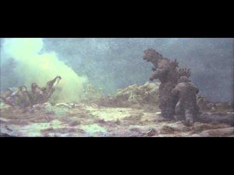 HD - (1967) Godzilla fends off Kumonga