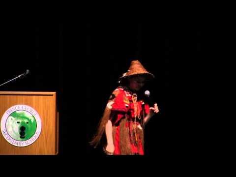 Ta'Kaiya Blaney Environmental Activism Presentation