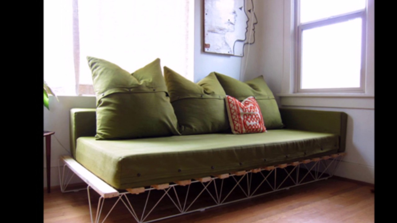 Elegant Sofa DIY Bed Decoration Ideas - YouTube