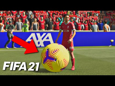 PLAYING FIFA 21 WITH A HUGE FOOTBALL!
