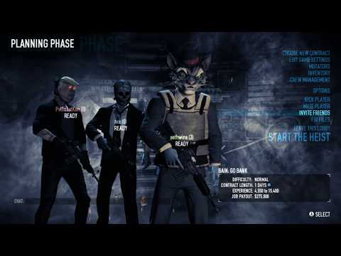 Little Bank Big Money A New Crew Appears Payday 2