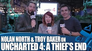 Nolan North and Troy Baker talk Uncharted 4: A Thief