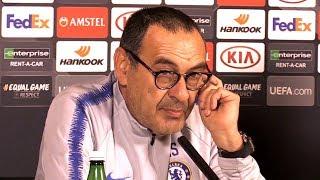 Maurizio Sarri Full Pre-Match Press Conference - Chelsea v Arsenal - Europa League Final