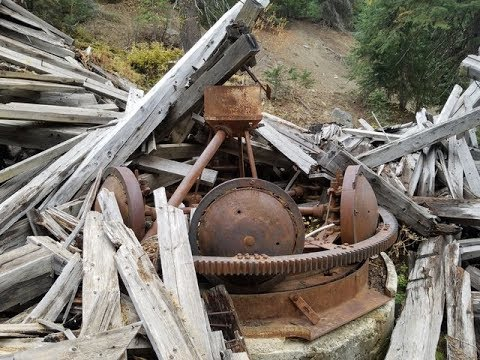 The Strangest Mining Mill You Will Ever See! The Amalgamated Mine