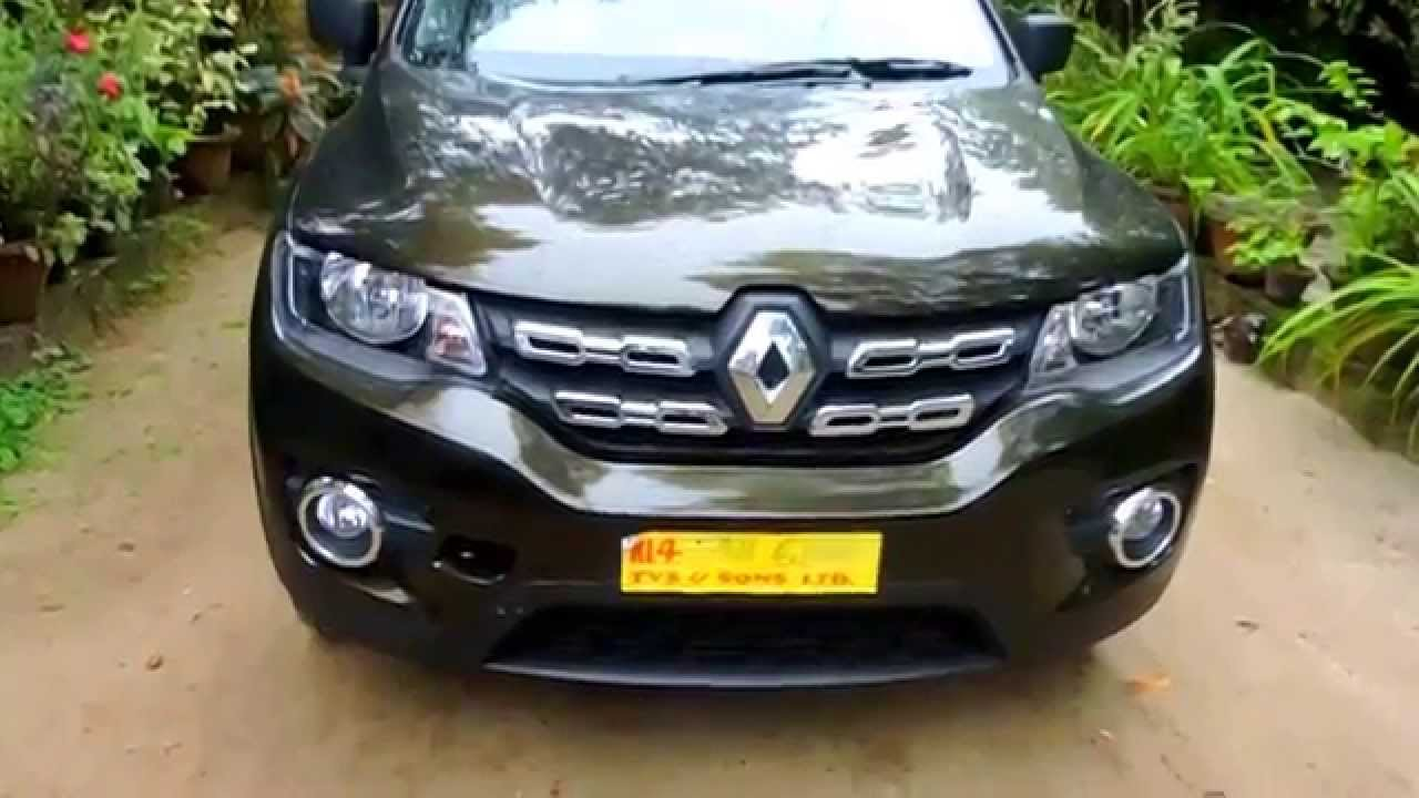 Renault Kwid Rxt Outback Bronze Colour Full View Youtube