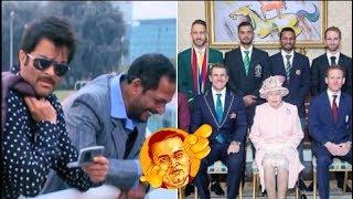 Majnu Bhai's painting | Welcome |  Elizabeth | Buckingham | Honour meeting | Funny | Viral