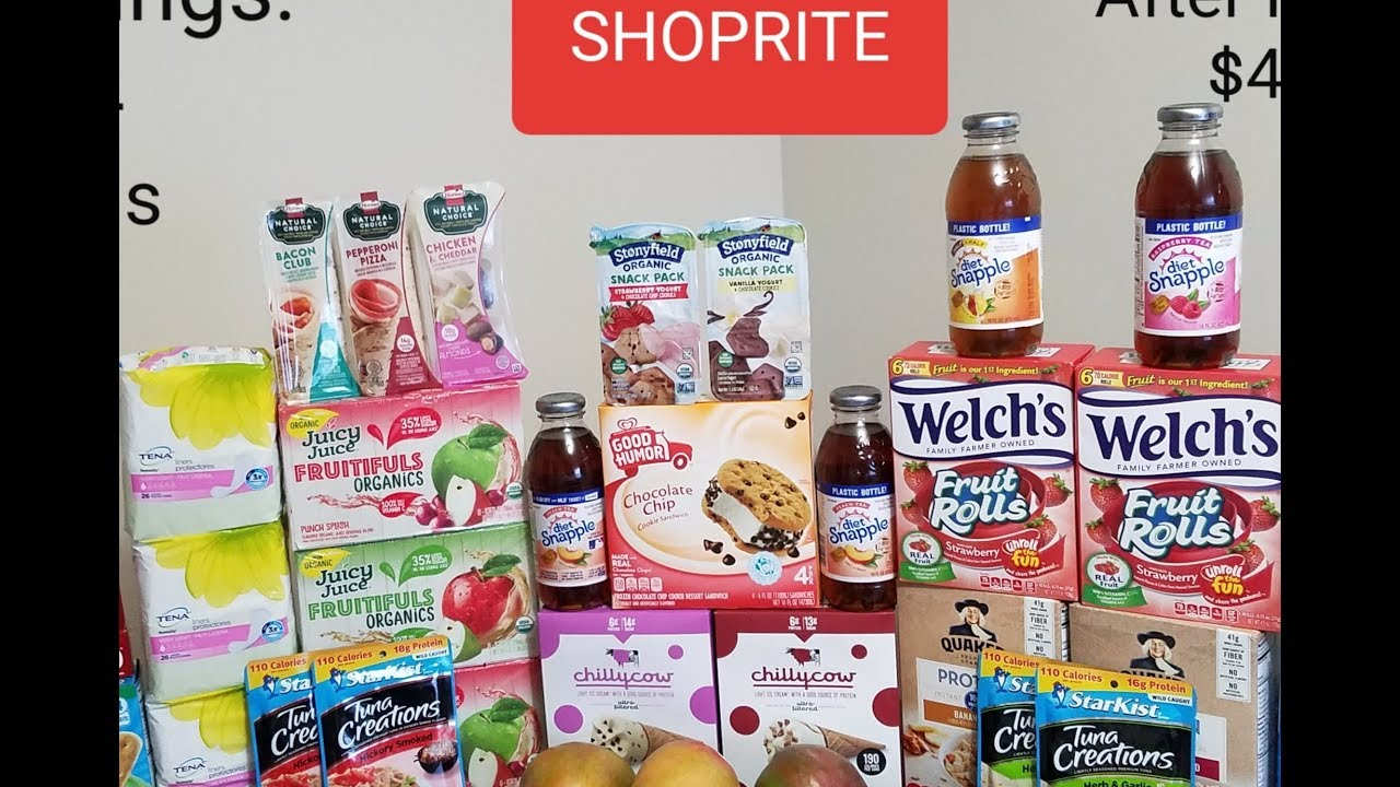 SHOPRITE COUPONING JUNE 2019