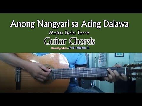 Anong Nangyari Sa Ating Dalawa - Moira Dela Torre - Guitar Cover