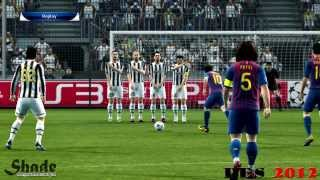 Free Kicks From PES 04 to 13