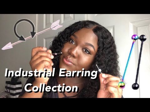 INDUSTRIAL EARRING COLLECTION (HOOKS AND BARS) ! KEEKS' LIFE