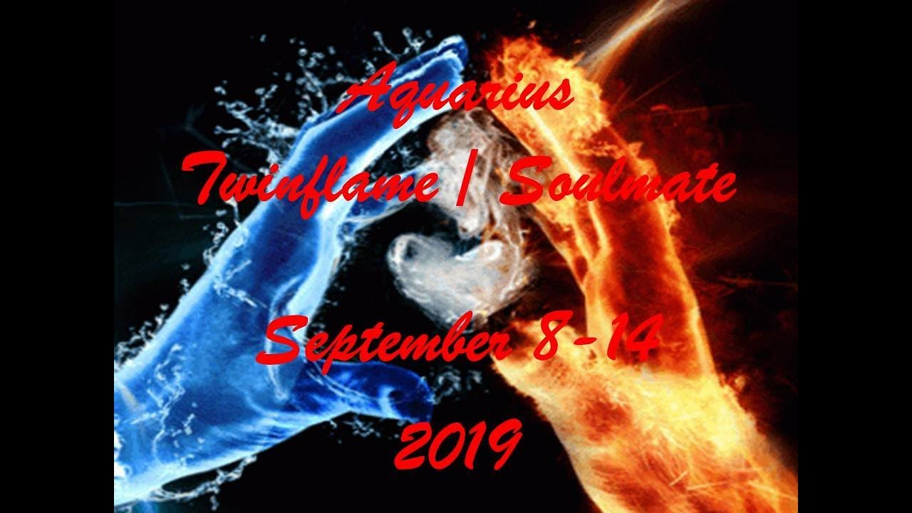 Aquarius September 8-14 Twinflame/Soulmate 2019 - YOU WORK TOGETHER , SET  YOUR BOUNDARIES