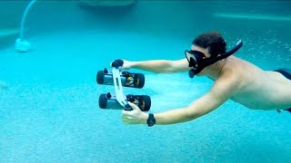 I Got a SWEET NEW TOY! Reviewing LeFeet S1 Underwater Scooter Jet - How Fast Can It Really Go?