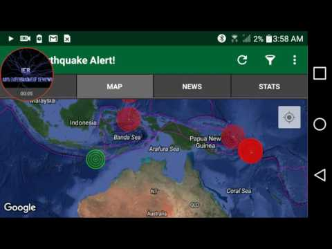 EARTHQUAKE WARNING AS THINGS GET LIVELY INCLUDING CANADA 4.1 quake