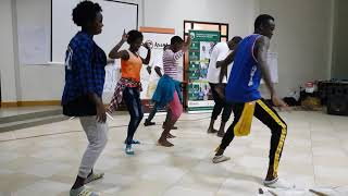 The Wamba Dance Crew - Show off Kenya dance moves