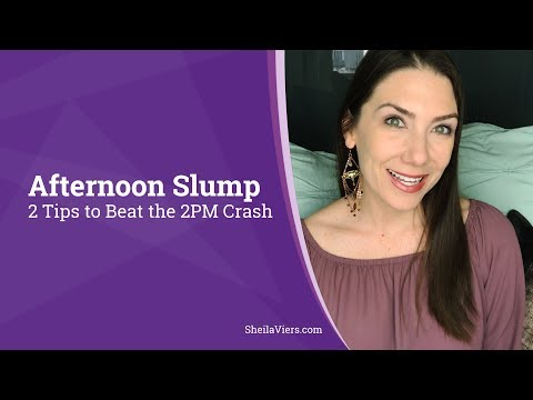 2 Ways To Beat The Afternoon Slump   Avoid the Afternoon Crash