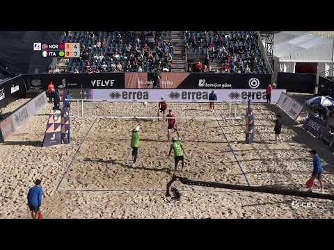 Mol.A/Sørum (NOR) vs. Nicolai/Lupo (ITA) Semi Final 2020 European Championships