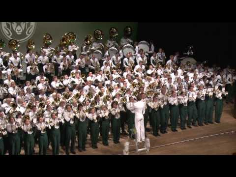 "Colorado State University Marching Band ""2013 March to Dublin"" Concert, RAMp, Part 3, 9-29-12"