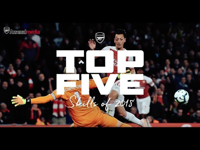 Flicks and tricks | Arsenal's top 5 skills of 2018