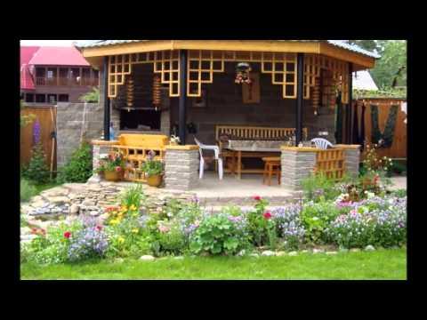 Разные варианты зоны отдыха на даче и в саду у наших дачников
