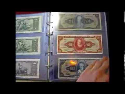 Zbirka bankovcev - Brazilija / Banknote collection - Brazil