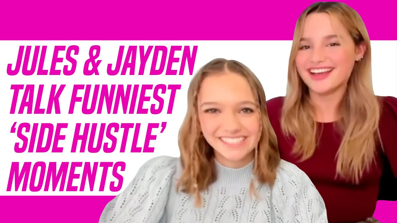 Jules LeBlanc and Jayden Bartels' Show Side Hustle: Funniest Moments on Set