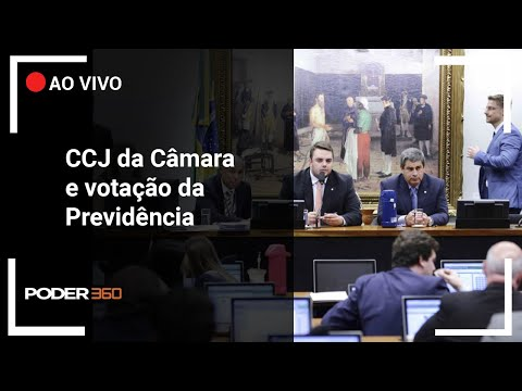 Ao vivo: CCJ da Câmara discute adiamento da votação da Previdência