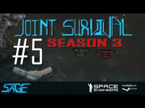 Space Engineers, The day of lost ships (Joint Survival S3, Ep #5)