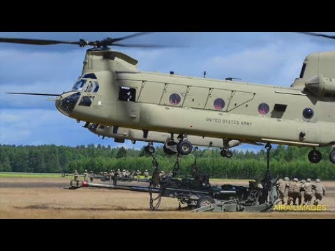 CH-47 Sling Load in Poland June 2017