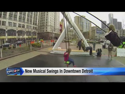 New musical swings in downtown Detroit
